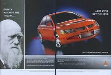 Mitsubishi Lancer Evolution VIII Car 2004 Magazine Advert #2138