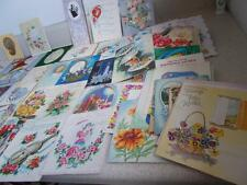 Lot of 84 vintage GREETING CARDS Christmas Birthday Birth Graduation 1947-1972