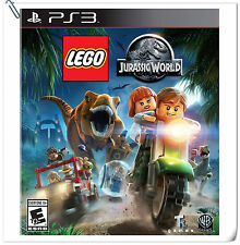 PS3 LEGO Jurassic World SONY PlayStation Warner Home Video Games Action