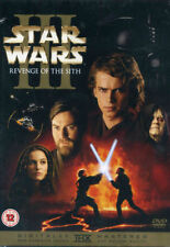 STAR WARS III REVENGE OF THE SITH 2 DISC SPECIAL EDITION FOX REGION 2 DVD L NEW
