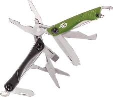 Gerber Dime Micro Tool Green 3Cr13 Stainless Steel Ten Components 30-001132