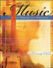 Music In Theory And Practice Volume 1 by Bruce Benward