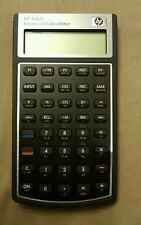 HP10bii Financial Calculator With Slip Case Excellent Condition Free Shipping
