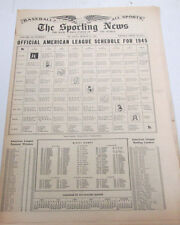 The Sporting News Newspaper  Bucky Harris March 15, 1945   101014lm-eB3