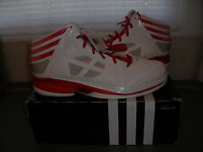 Adidas Crazy Shadow Promo Basketball Shoes G59564 Size 17 Shoes RED WHITE