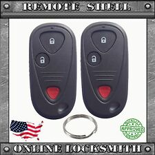2 NEW REPLACEMENT KEYLESS ENTRY REMOTE SHELL CASE FOB FOR ACURA NSX & RSX