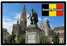 ANTWERP, BELGIUM - SOUVENIR NOVELTY FRIDGE MAGNET - BRAND NEW - GIFT
