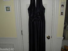 AFTER SIX MIDNIGHT BLUE  EVENING GOWN ,BRIDESMAID, FORMAL SIZE 8