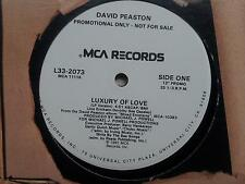 David Peaston - Luxury of Love