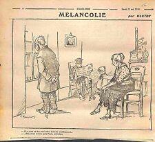 Caricature Berlin Guerre Désinformation Paris & Calais Dessin Hautot WWI 1916
