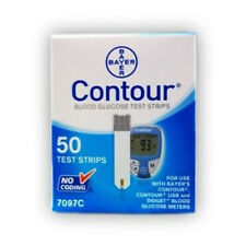 Bayer Contour Blood Glucose 50 Test Strips Expires 05/2018 - 1 DAY HANDLING