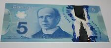 VERY RARE 2013 $5 BC-69a MACKLEM / CARNEY PREFIX HBG NOTES