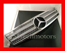 Mercedes Benz R129 SL320 SL500 Grille Grille 90~02 Frame SILVER w/Frame NEW