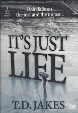 It's Just Life - Rain falls on the Just and Unjust  - 3 Dvds Bishop T.D. Jakes