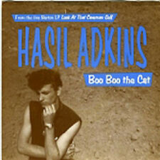 "HASIL ADKINS 'Boo Boo The Cat 7"" NEW 1993 Norton Psychobilly cramps Rockabilly"