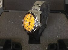 Deep Blue Blue Alpha Marine Swiss ETA 2824 Automatic 500 Meter Dive Watch