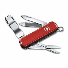 Victorinox Swiss Army Knife - Key Chain Knife - Nail Clip 580 - Red Free Ship
