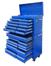 05 US PRO Tools Blue Steel Chest Box Snap Up cabinet tool box FINANCE AVAILABLE!