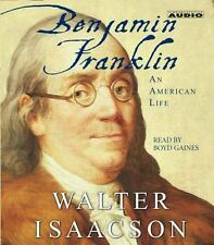 Benjamin Franklin : An American Life by Walter Isaacson (2003, CD, Abridged)