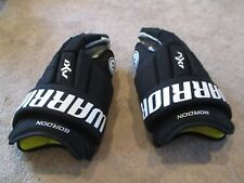 """Used Warrior AX1 Pro Stock Flyers 14"""" Hockey Gloves Bauer APX QR1"""