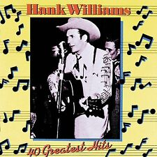 Hank Williams 40 GREATEST HITS Best Of ESSENTIAL COLLECTION New Sealed 2 CD