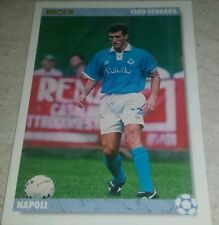 CARD JOKER 1994 NAPOLI FERRARA CALCIO FOOTBALL SOCCER ALBUM