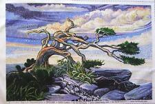 Artisan Spirit Dreamscape Windswept Tree Northcott Fabric Double Panel