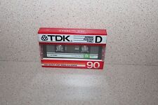 TDK Normal Position 90 Type I NEW SEALED Audio cassette