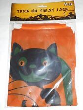 LOT OF 34 HALLOWEEN TRICK OR TREAT PLASTIC SACKS BRAND NEW