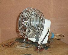 "ANTIQUE SCAND PERSONAL FAN  MODEL SW-003 1940 Mini desk SIZE 3"" VERY RARE WORKS!"