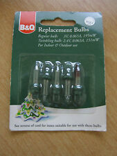 B&Q Spare Replacement Xmas Candle Arch Light Bulbs Lamps 05022038 ...:B&Q Replacement Spare Xmas Light Bulbs, Clear Lamps 3v 195mW BQL1 25073201,Lighting