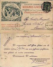 REGNO-RICHARD GINORI CERAMICHE STABILIMENTO DI DOCCIA-5c(81) Colonnata 9.11.1914