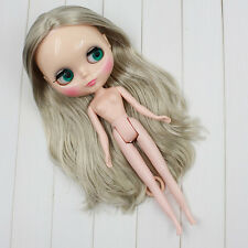 "12"" Neo Blythe Doll Grey Hair Factory Nude Blythe Doll from Factory JSW83009"