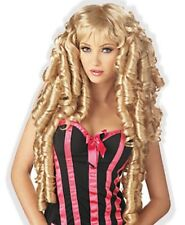 Beautiful Blond Curls Princess Wig for Adult Little Girl Sissy Dress up LEANNE