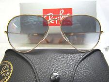 Ray-Ban 3025 Aviator 001/3F 55/14 occhiale da sole, NUOVO ORIGINALE