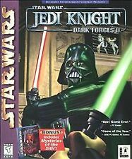 Star Wars Jedi Knight Dark Forces II and Mysteries of the Sith Win95/98 PC CDs