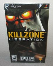 KILLZONE Liberation SEALED NEW Sony PlayStation PSP DEMO DISC Guerrilla Games