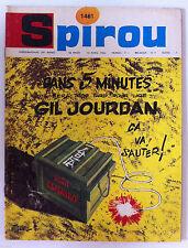 A)SPIROU N°1461  Avec le mini récit/ L'abre à cames pour Opel et Pontiac
