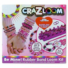 Cra-Z-Loom Bracelet Making Kit 700 Colourful Rubber Loom Bands Kids Set DIY Gift