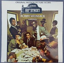Bobby Womack - Across 110th Street - Original 1972 Soundtrack Vinyl LP Record
