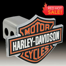 Harley-Davidson 3D Colored Bar & Shield Trailer Tow Hitch Cover Plug