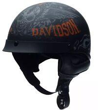 97356-16VM harley davidson Men's Arcadia DOT motorcycle 1/2 helmet size 3XL