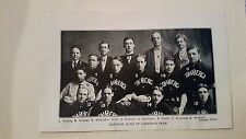 National Bank of Commerce 1906 Baseball Team Picture SP VERY RARE