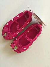 NWT 5 Toddler Gymboree Hot Pink Polka Dot Shoes Ice Cream Sweetie