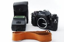 CANON A-1 35mm SLR Film Camera Body w/flash,strap EXC++ from Japan