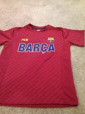FC Barcelona Youth Medium Polyester T Shirt Tee. New.