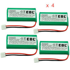 4 Pack 800mAh Home Phone Battery For AT&T / Lucent BT18433 BT28433 BT184342 3101