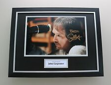 John Carpenter Signed Photo Framed 16x12 Halloween Autograph Memorabilia Display