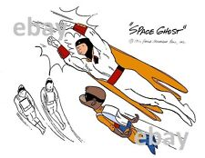 Hanna Barbera STYLE GUIDE PLATE - SPACE GHOST & BLIP
