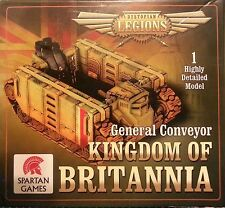 KINGDOM OF BRITANNIA GENERAL CONVEYOR - DYSTOPIAN LEGIONS - SPARTAN GAMES